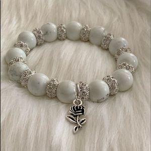 White sparkle bracelet